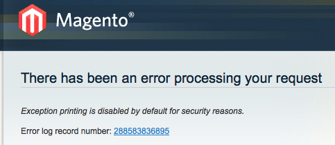 The dreaded Magento disabled
